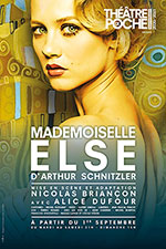 Mademoiselle Else, au théâtre de Poche Montparnasse.